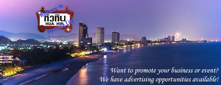Advertising - events and business promotions in Hua Hin