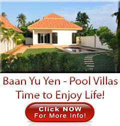 Hua Hin, Pranburi, pool, villas, for, sale time to enjoy life