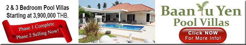Hua Hin, Pranburi, pool, villas, for, sale. 3.9